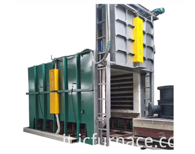 All fiber car type tempering furnace
