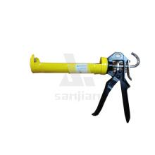 """El más nuevo tipo 9 """"pistola de calafateo esquelético, arma del aplicador del silicón del arma del silicón, pistola del sellador del silicón (SJIE3011B)"""