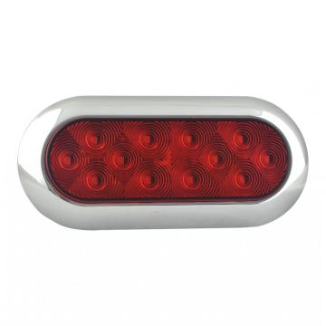 DOT 6 inci Truk Oval Rear Stop Lighting