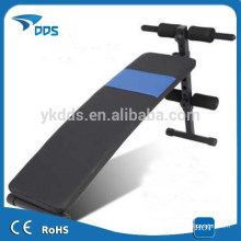 Adjustable gym equipment incline work bench
