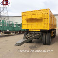Full Trailer Stake Fence Trailer With Drawbar