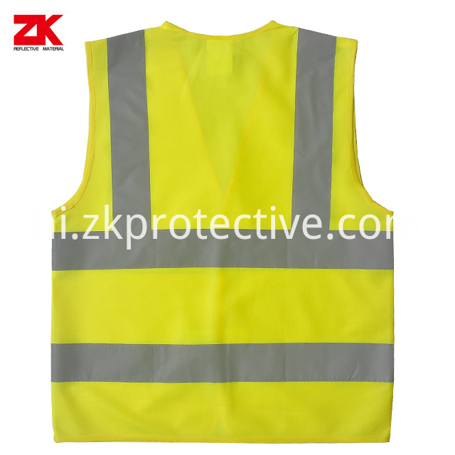 Yellow En471 Safety Vest