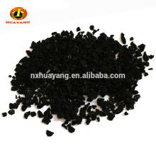 8 * 30 mesh granulé coquille de noix de coco charbon actif