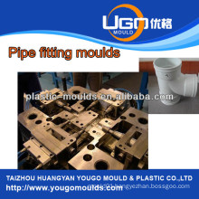 China taizhou Plastic mold supplier for standard size pvc elbow pipe fitting mould