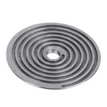 Die Casting of Spiral Plate with Textile Machine