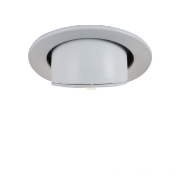 Supermercado iluminación COB redonda regulable interior Downlight llevado