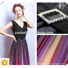 2016 Chic Elegante Chiffon Deep V Luxo Mulheres Vestido Andar de comprimento Rainbow Color Evening Dresses para atacado