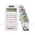 8 chiffres Calculatrice de poche à double puissance avec impression colorée (LC336)