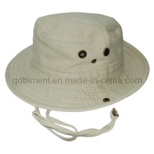 Top Quality Washed Twill Leisure Fishing Bucket Hat (TRBT017)