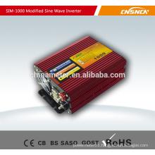 12v 220v 1000W modified sine wave power inverter