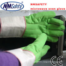 NMSAFETY two layers oven mitt gloves heat resistant gloves