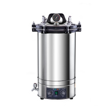 YX-280D hospital supply stainless steel accurate double scale autoclave sterilizer