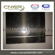 толщина 2,5 мм 3k твил / гладкая плетение из глянцевого углеродного волокна Пластины / Лист / Доска / Панель