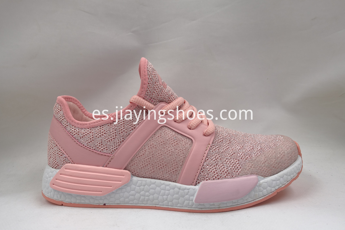 Pink Casual Shoes