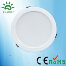 Neue weiße LED-Downlight mit 150mm ausgeschnitten 100-240v 110v 220v smd5730 15w Indoor-Down-Beleuchtung geführt