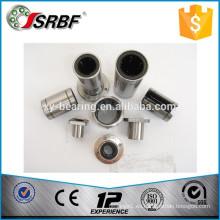 China chrome material de acero LMF / LMK serie cuadrados brida rodamientos lineales