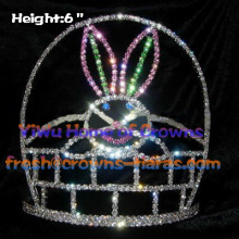 Lovely Rabbit Rhinestone Crowns