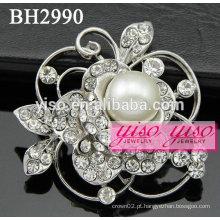Encantadores broches de jóias florais