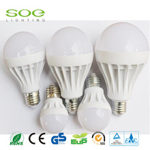 CE ROHS 5W Plastic LED light bulbs