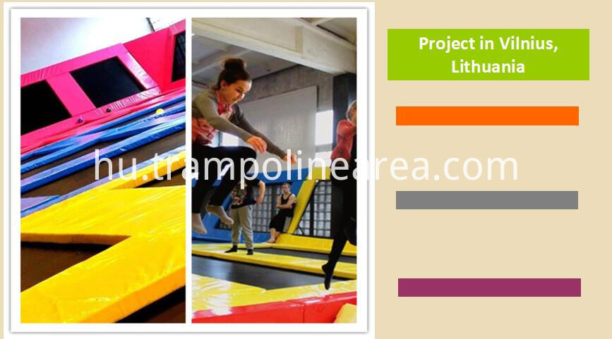 Projects of indoor gymnastic trampoline
