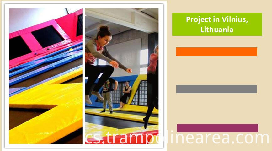 Projects of springs trampoline park