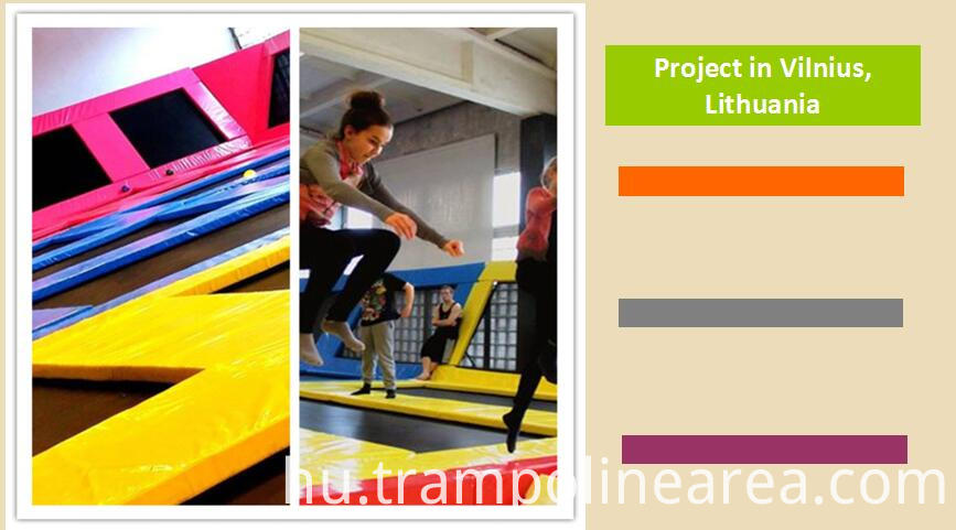 Projects of launch trampoline park