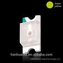 Fábrica directamente color dual smd led luz smd 1206 rojo azul superficie montaje diodo led iluminación led