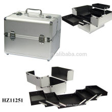 new design&hot sale aluminum makeup case high quality