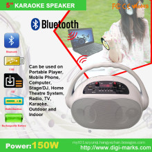 5 Inch Colorful Wireless Bluetooth Mini Speaker with Mic