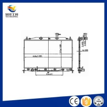 Pièces de refroidissement de haute qualité Pièces de radiateur en fonte d'acier