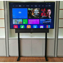 (TV01-70) TV Display Floor & desktop Stand for Displays up to 70″