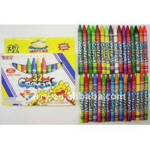 Kjin 32pcs wax crayons in color box for Kids