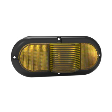 "6 ""Oval 100% impermeável UV PC LED Truck Marker Lamp"