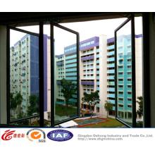 Vidro duplo vitrificado / UPVC Casement / Swing Plastic Window
