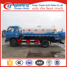 dongfeng 10000 liter water bowser truck, 10cbm water tank truck for sale