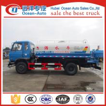 Dongfeng 10000 litros caminhão de água bowser, caminhão de tanque de água 10cbm à venda