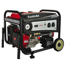 Fusinda 3kVA Gasoline Petrol Generator with Non Flat Wheels