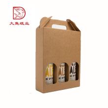 Made in China günstigen preis großhandel 3 flaschen wein geschenkbox