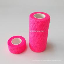 Diferentes tipos de produtos de cuidados médicos curativos não wocen crepe bandas bandagem elástica