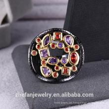 2018 Vogue jewelry party rings venta caliente y precio competitivo