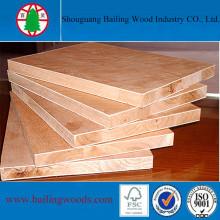 Paneles de carpintería para exteriores de 18mm Paulownia Core