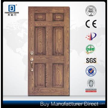 New Design Door Skin Fiberglass Door