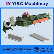 Yibo Maquinaria Folha de Metal C Purlin telhado quadro Largura variável Roll formando máquina