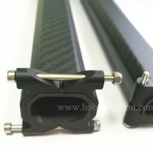 Pinces CNC horizontales en aluminium pour tubes carrés