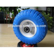 10x350-4 Lanzando pu ruedas para bote inflable / ruedas traliler