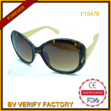 Бесплатный образец солнцезащитные очки Китай завод (F15478)