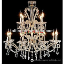 2018 Classical Crystal Chandelier Light with E12 Candle Bulb