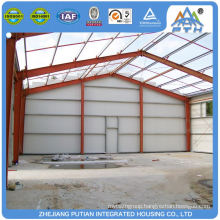 China product aluminum alloy window prefabricated steel structure warehouse