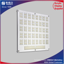 Acrylic Staff Photo Board, PMMA Staff Boards with Name Pockets
