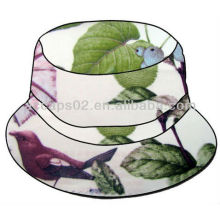 White Flower Bucket Hat BH-2100